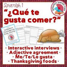 1 interactive thanksgiving dia de accion de gracias