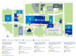 Map Of Midtown Atlanta by Patients U0026 Visitors Saint Joseph Hospital Denver Co