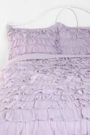 plum u0026 bow waterfall ruffle sham set comforter dorm and room