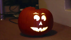 projection mapping on a pumpkin halloween 2014 youtube