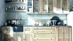 meuble cuisine en bois brut cuisine en bois naturel facade meuble cuisine bois brut meuble