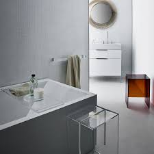 kartell rail modern transparent towel bar stardust