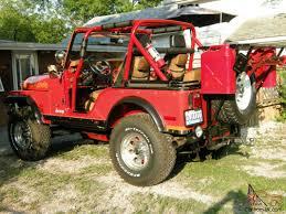 brown jeep cj7 renegade cj renegade