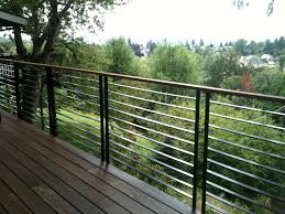 metal deck railings inspirations and futuristic lowes balusters