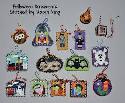 Halloween Ornaments To Make Needlepoint Study Hall October 2011
