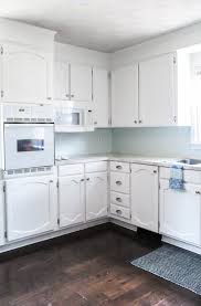 painting my kitchen cabinets blue my painted cabinets two years later the the bad the
