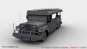 jeep philippine 3d philippine jeepney by francis115 on deviantart