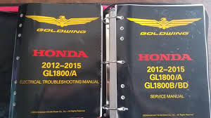 american honda motor co inc honda goldwing service manual ho61mca66 must have product youtube