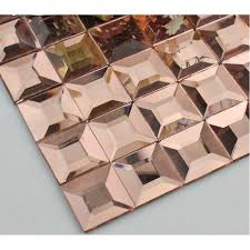 pyramid glass tile backsplash ideas bathroom mosaic mirror