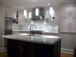 kitchen kitchen grey floors white cabinets black and white