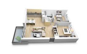 plan appartement 3 chambres charmant appartement 3 chambres ravizh com