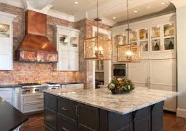 how to hang kitchen cabinets on brick wall copper range transitional kitchen pheasant hill