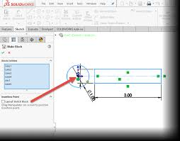why you should be using sketch blocks in solidworks design u0026 motion