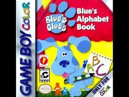 blue u0027s clues blue u0027s alphabet book game boy color game play