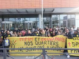 icade siege social semaine d actions anti mipim les mal logés manifestent au siège d