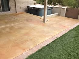 Patio Concrete Designs Stained Concrete Patio Overlay Installation And Pool Deck Addition