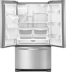 Whirlpool Inch French Door Refrigerator - whirlpool wrf555sdfz 36 inch french door refrigerator with