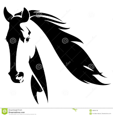 abstract horse clipart 20