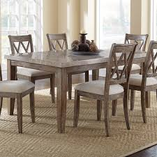 steve silver dining room sets steve silver franco white marble top table hayneedle