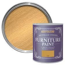 rust oleum rust oleum gold metallic metallic furniture paint 750