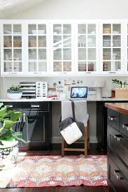 small kitchen desk ideas kitchen cabinet ideas with desk outofhome