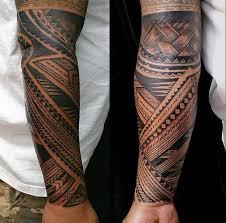 forearm sleeve guys samoan tribal tattoo secret tattoo kevin