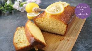 super moist honey lemon pound cake recipe homemade food by