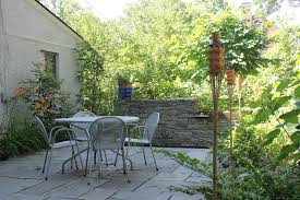 Slate Rock Patio by Greenweaver Landscapes Llc