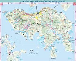 Map Of Hong Kong China by Tourist Map Of Hong Kong Island Layout Travel Guide