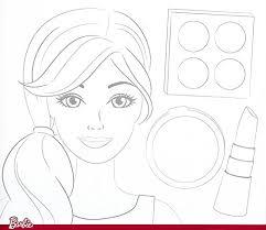 coloring luxury barbie sketch games coloring barbie