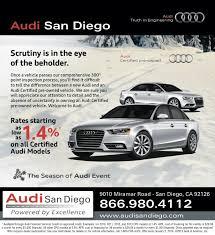 audi cpo lease cpo audi certified pre owned audi san diego southern california