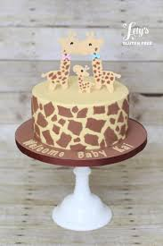 giraffe baby shower cake giraffe baby shower cake cake by lety s gluten free lety s