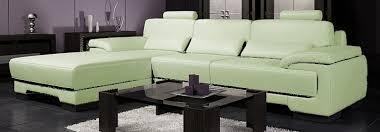 canap cuir vert canapé cuir d angle design california