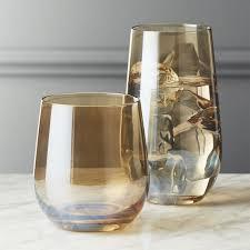 unique barware unique glasses and tumblers cb2