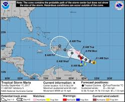 Mexico Hurricane Map by Maria Now A Hurricane Promises More Damage For The Caribbean
