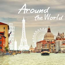 travel clipart images Represent for the world 39 s greatest cities with around the world jpeg