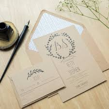 Cheap Wedding Invitations And Response Cards Wedding Stationery Invitations Rectangle Potrait Brown Black