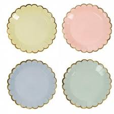 canape firr pastel canape plates and creme