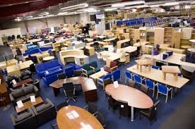 Used Office Desks Uk New And Used Office Furniture Glasgow Showroom Intended For Second