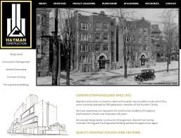 congrats on your new site hayman construction web design