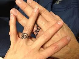 symbols as wedding band tattoos unique wedding ideas inked