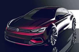 volkswagen coupe volkswagen plans coupe concept for beijing