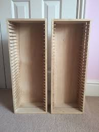 Dvd Rack Ikea by 2x Ikea Boalt Dvd Storage Racks In Woking Surrey Gumtree