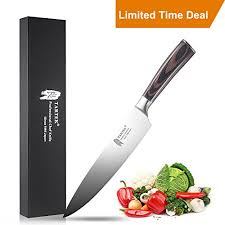 high carbon stainless steel kitchen knives tartek professional chef knife high carbon stainless steel