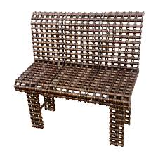 buy a custom made chain art furniture metal bench industrial