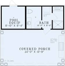 floor plans house poolhouse plan with bathroom best house plans home plans floor