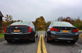 cadillac ats vs bmw test drive cadillac ats 2 0t vs bmw 328i