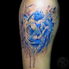 lion watercolor tattoo watercolor lion tattoo lion water