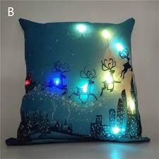 theme pillowcase with colorful led lights pillowcase