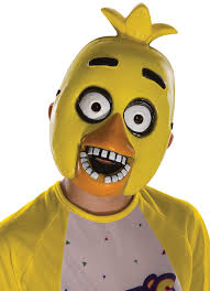 five nights at freddy s halloween update amazon com five nights at freddy u0027s chica child u0027s half mask toys